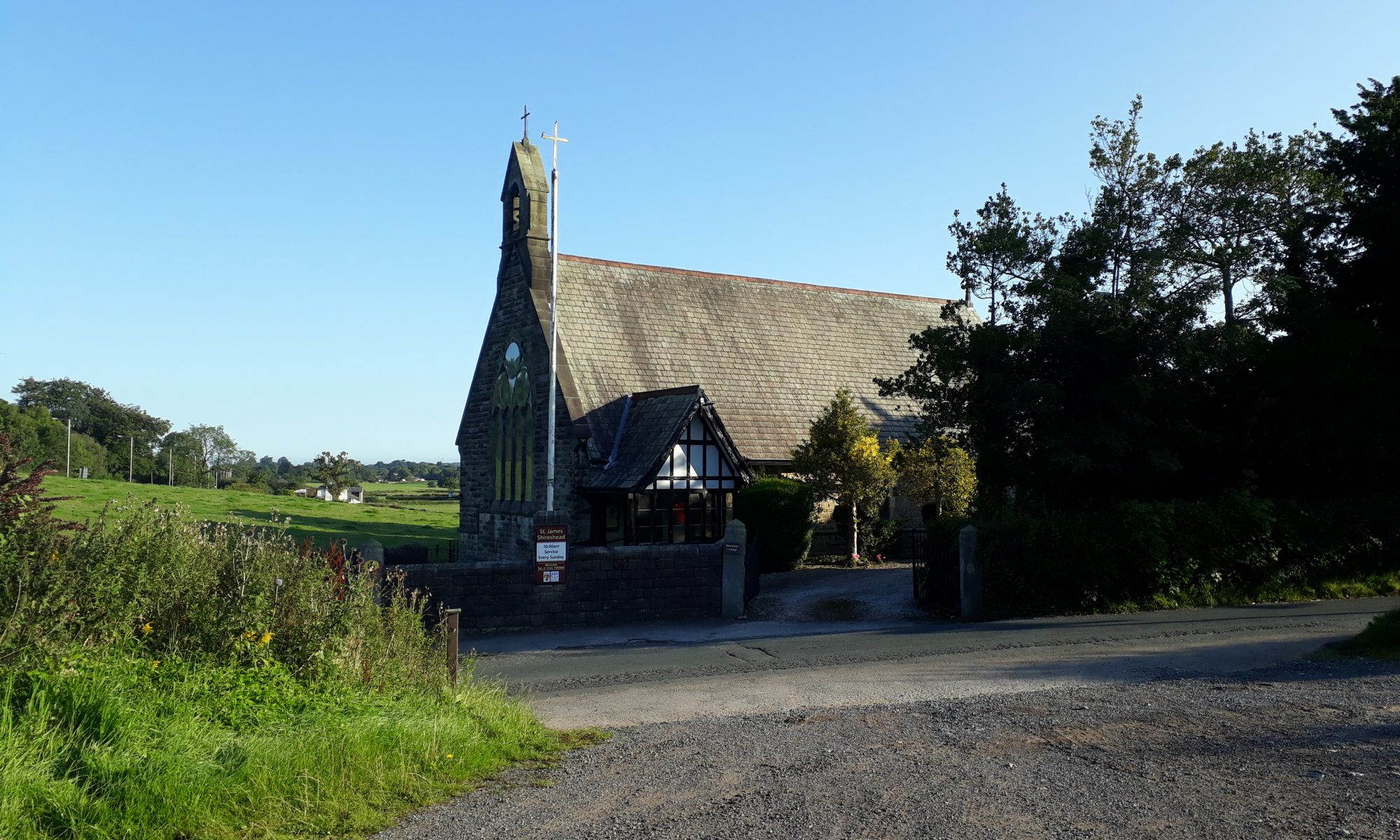St. James Church, Shireshead, Forton